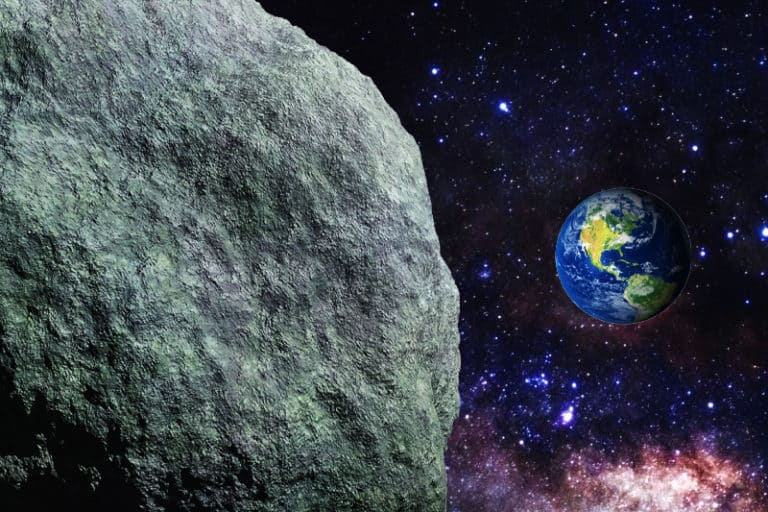 A Small Asteroid Passed Earth and We Didn't See It
