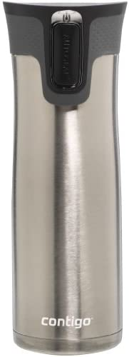 Contigo Autoseal West Loop – Vacuum Insulated Stainless Steel Thermal Coffee Travel Mug – Keeps Drinks Hot or Cold for Hours – Autoseal Prevents Spills and Leaks – BPA-Free – 24 Ounces