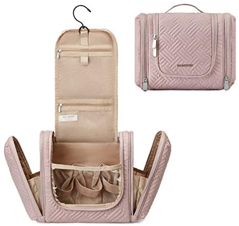 Toiletry Bag, BAGSMART Travel Toiletry Organizer with hanging hook