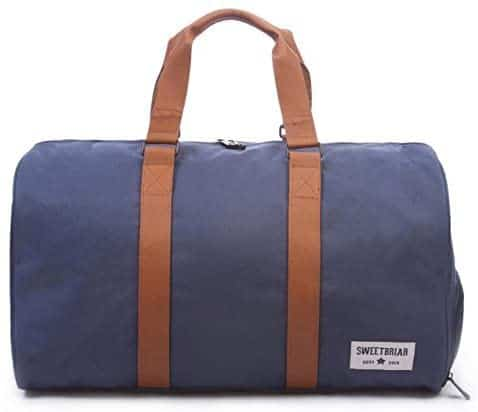 Sweetbriar Classic Duffle Bag – Weekender Duffel with Shoe Compartment